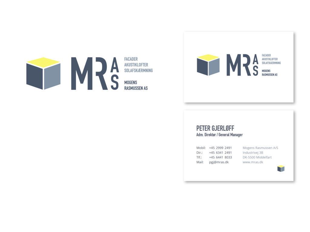 nyt logo og visuel identitet til mogens rasmussen as middelfart