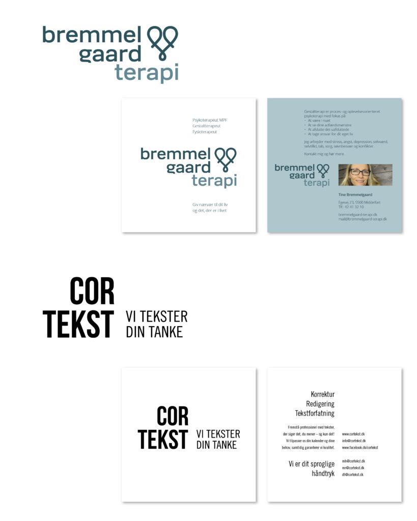 logo til bremmegaard terapi og cortekst
