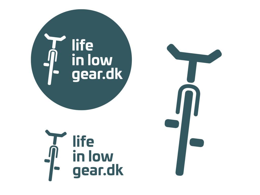 nyt logo og visuel identitet til lifeinlowgear.dk