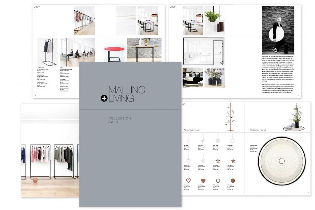 Opsætning af priskatalog til designvirksomheden MallingLiving